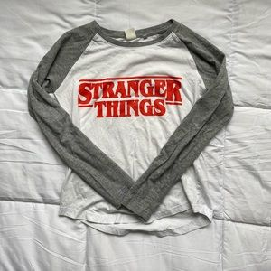 Tops - Stranger Things Ringer Long Sleeve